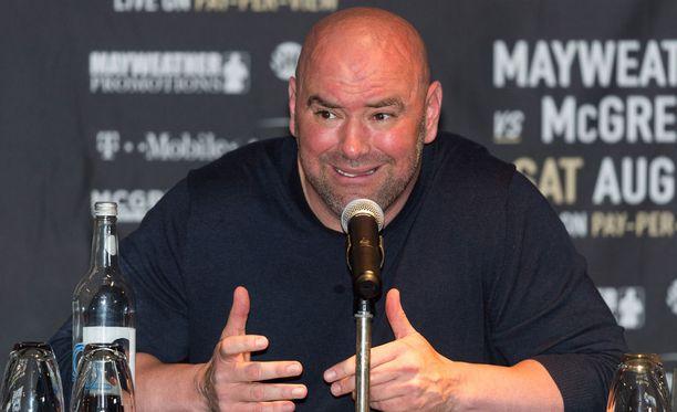 UFC-pomo Dana White ei pitänyt Brasiliassa näkemästään ottelusta tai sen tuomarista.