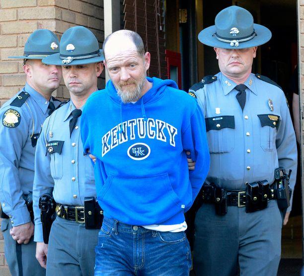 Timothy Madden pidätettiin perjantaina. Häntä epäillään 7-vuotiaan tytön murhasta ja seksuaalirikoksista.