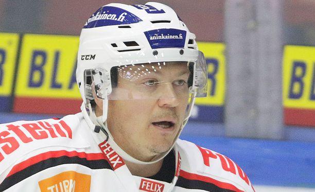 Petteri Nummelin palasi Turkuun ja TuToon.