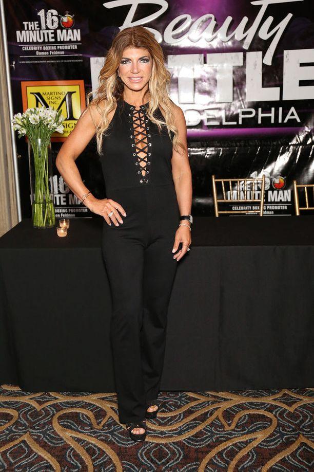 Teresa Giudice on tähdittänyt New Jerseyn täydelliset naiset -tosi-tv-sarjaa.