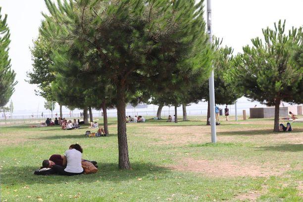 Lissabonissa oli lauantaina 43 astetta lämpöä.