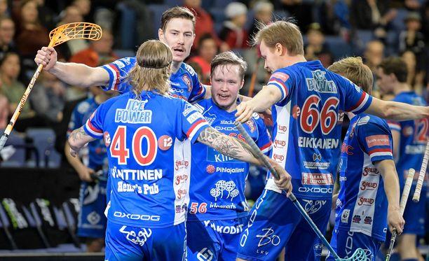 Classic voitti jo kolmannen perättäisen Suomen mestaruutensa.