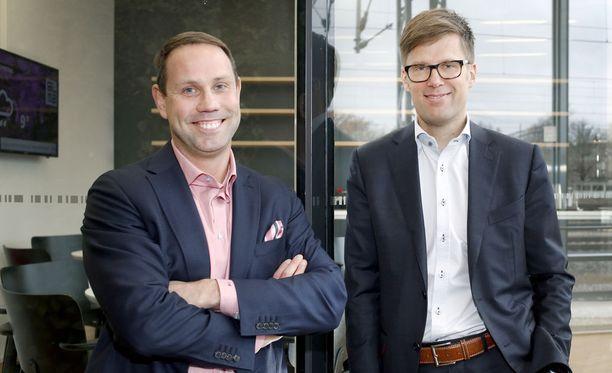 Tuomas Kaukisen johtama Tietokeskus myytiin Panu Vuorelan edustamalle Vaaka Partnersille.