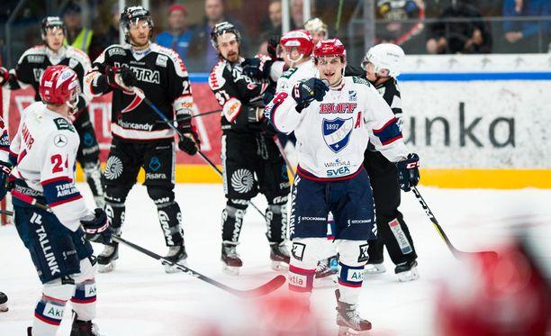 HIFK ja JYP kohtaavat tänään Helsingissä puolivälieräsarjansa kuudennessa ottelussa.