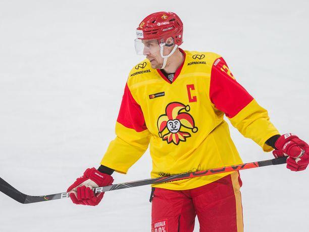Marko Anttila johtaa Jokerit pudotuspeleihin.