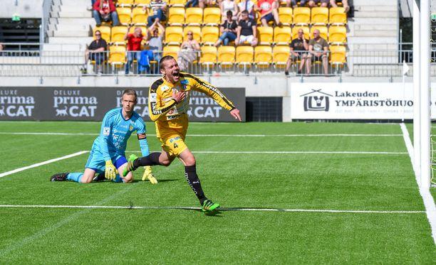 Jere Engström viimeisteli VPS:n voittomaali.