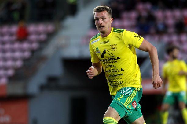 Janne Sakselan viime kausi päättyi loukkaantumiseen.