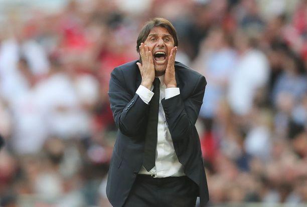 Antonio Conte on viimeisimmissä huhuissa liitetty Real Madridiin.