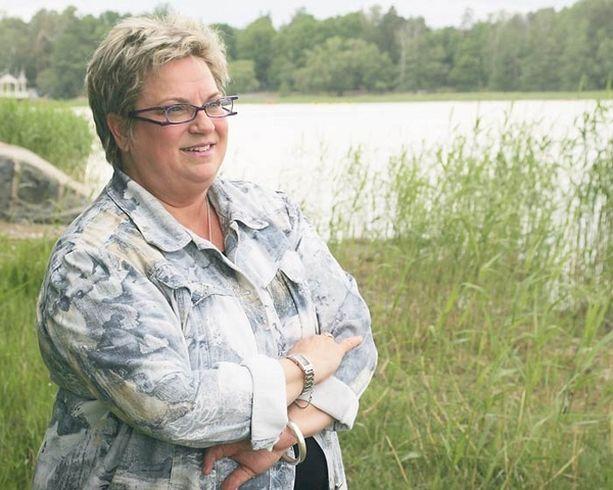 JOKO NYT? Tehy-pomo Jaana Laitinen-Pesola toivoo, että pystyy nyt vihdoin tyhjentämään päänsä työasioista.