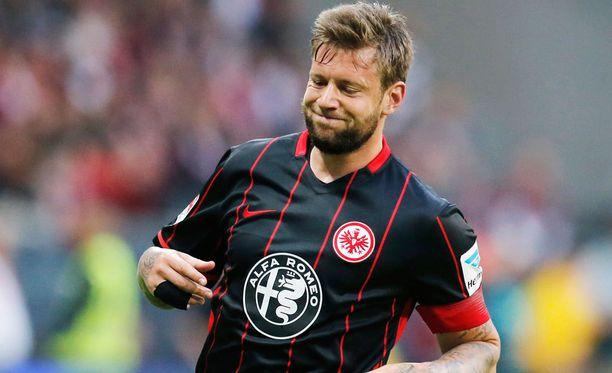 Frankfurtin kapteeni Marco Russ elää kovia aikoja.