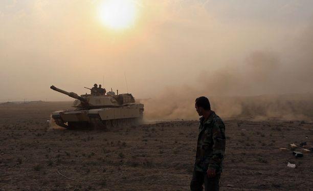 Irakin erityisjoukot lähenevät Mosulin keskustaa päivä päivältä.