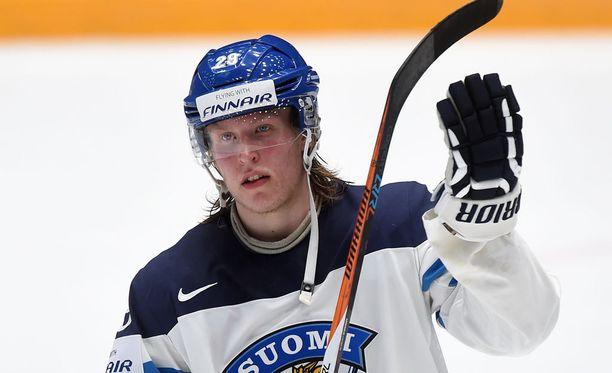 Patrik Laineen pelimäärä on 18-vuotiaalle luokkaa älyvapaa.