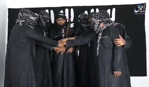 Sri Lankassa sunnuntaina iskeneet miehet vannoivat uskollisuutta Isisille.