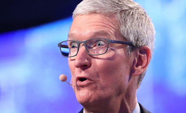 Applen toimitusjohtaja Tim Cook syyskuussa 2017.