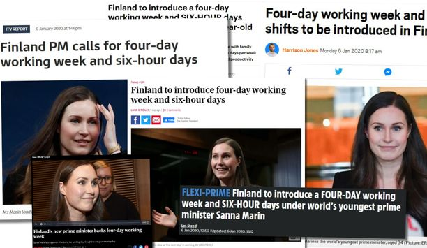 Muun muassa Daily Mail, ITV, The Independent, The Sun, Evening Standard ja 9 News uutisoivat virheellisesti Sanna Marinin vanhoista puheista.