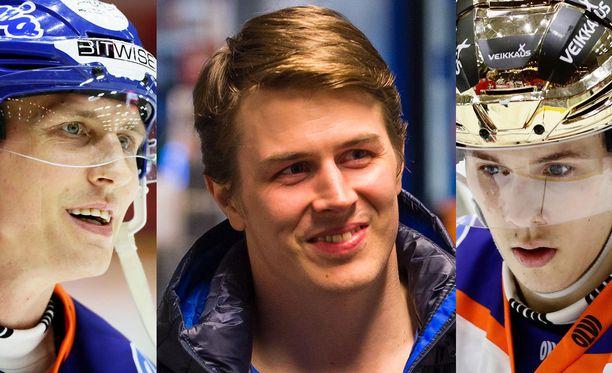 Veli-Pekka Savinainen, Kristian Kuusela ja Henrik Haapala