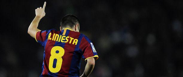 Andrés Iniesta kasvoi sankariksi.