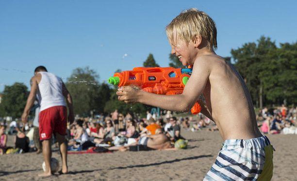 Suomen kesästä ennustetaan keskimääräistä lämpimämpää.
