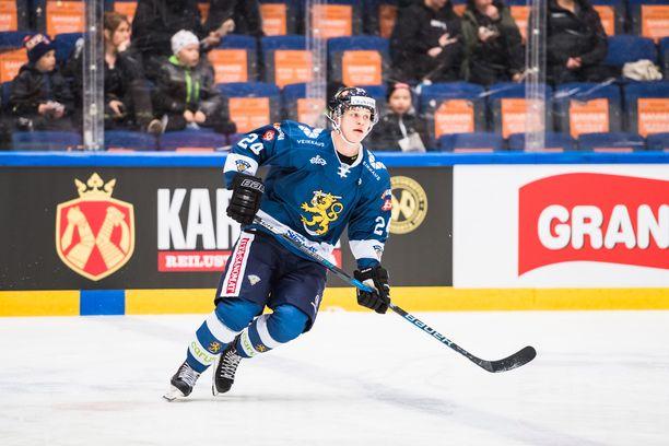 Kasper Björkqvist hamuaa pelipaikkaa NHL:stä.