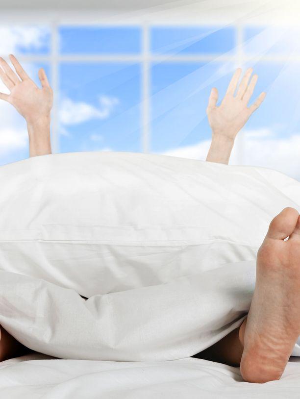 Miten ihana onkaan herätä hyvin nukutun yön jälkeen!