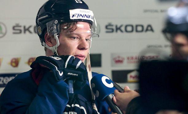 Miro Aaltonen edusti Suomea viime vuoden MM-kisoissa.