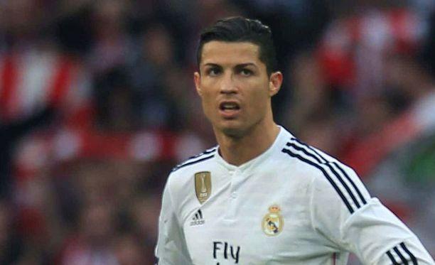 Cristiano Ronaldo ei onnistunut Bilbao-ottelussa.