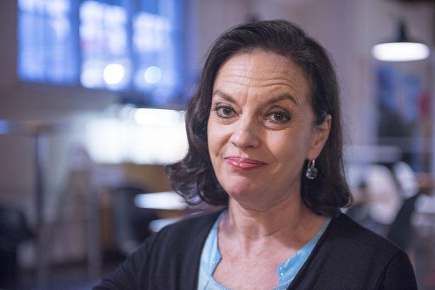 Anna-Leena Härkönen sanoo jännittävänsä tätä iltaa.