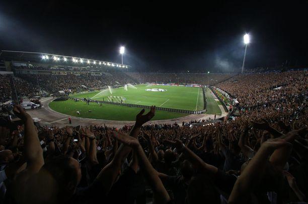 Gestranius kiitteli Kreikan jalkapalloliittoa ylimääräisen hulinan poissulkemisesta ja turvallisuuden varmistamisesta stadionilla.