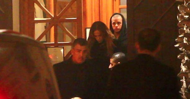 Jennifer ja Casper illallistivat yhdessä Marokossa.