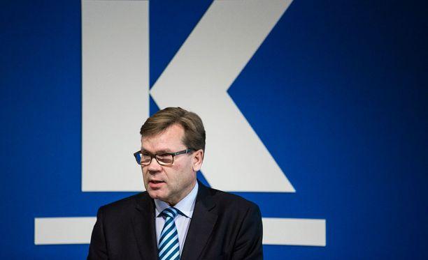 Tekemättömiä töitä on paljon, Keskon pääjohtaja Mikko Helander sanoo.