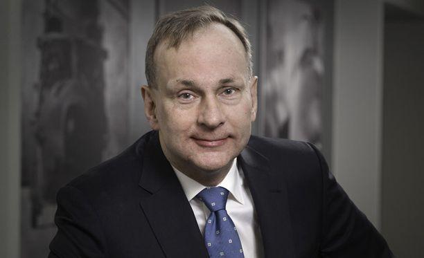 Esa Rautalinko on toiminut Patrian hallituksen puheenjohtajana marraskuusta 2018 lähtien.