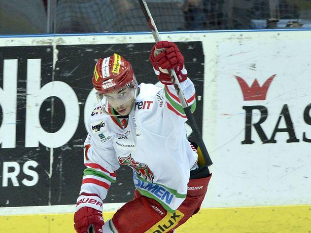 Gustav Possler jatkaa uraansa Raumalla.