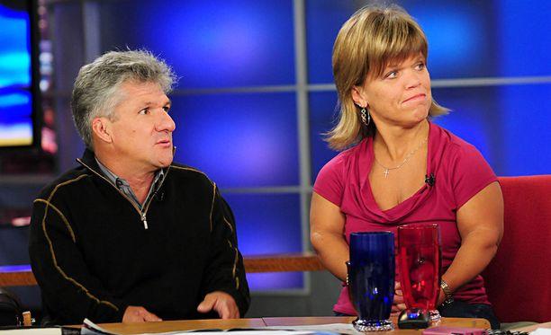 Matt ja Amy Roloff esiintyvät erostaan huolimatta yhä yhteisessä tosi-tv-sarjassaan.