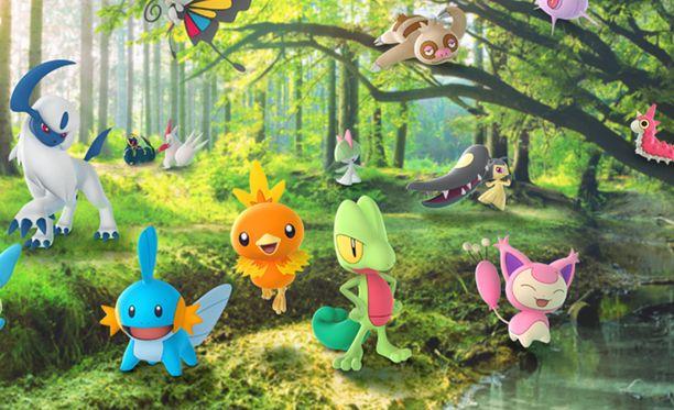 Pokemon Go:n taisteluja päivitetään.