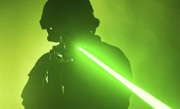 Laserase olisi tehokas jopa 800 metrin etäisyydeltä. Kuvituskuva.