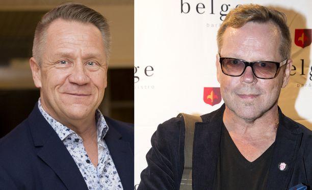 Olli Lindholm ja Neumann kohtasivat viimeisen kerran Porissa.