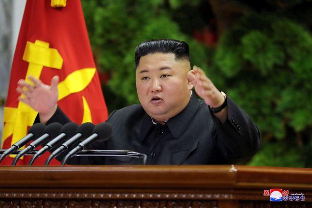 Kim Jong-Un on hallinnut Pohjois-Koreaa vuodesta 2011.