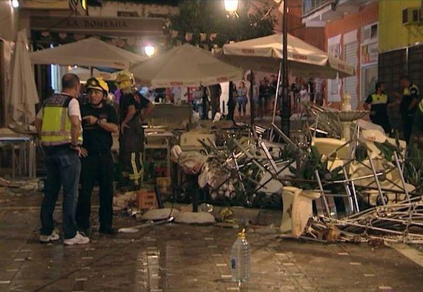 Vélez-Málagan kaasuräjähdyksessä säästyttiin kuolonuhreilta.