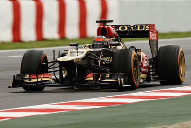 Kimi Räikkönen ajoi toisten harjoitusten neljänneksi nopeimman ajan.