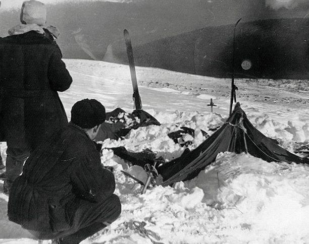 Vaeltajien teltta löytyi ensin.