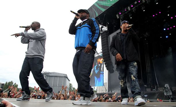 Wu-Tang Clan ei saapunut Pipefesteille.