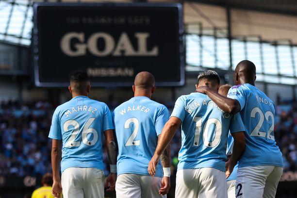 Manchester City suoritti historiallisen hyvän kasvojenpesun.