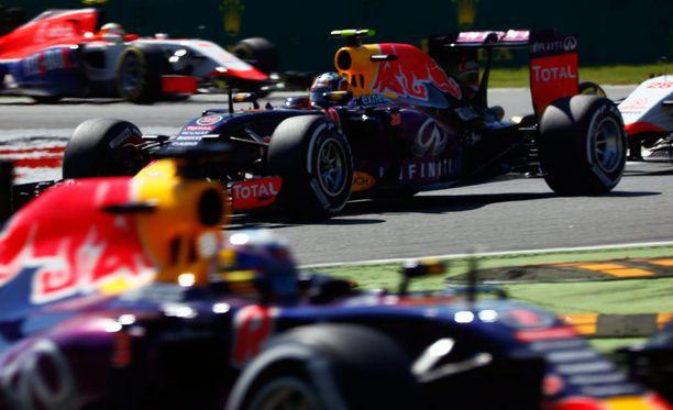 Red Bullin moottorikuvioihin on tulossa muutos.
