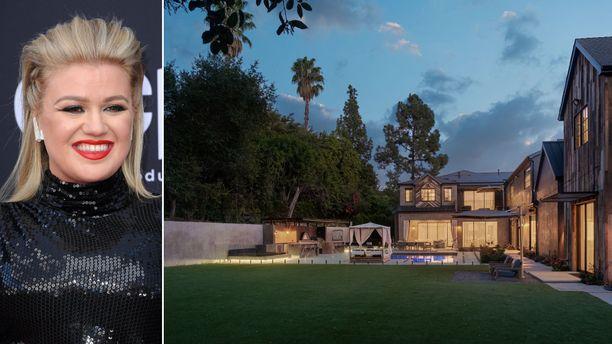 Kelly Clarkson kauppaa entistä kotiaan 10 miljoonan dollarin hintaan.