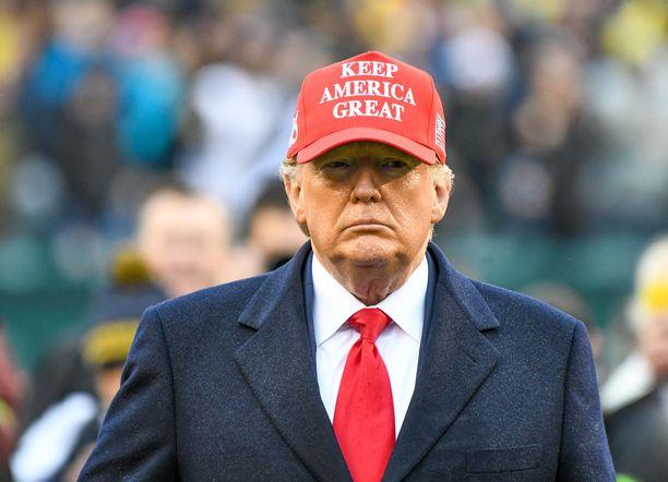 Trump on sanonut, ettei aio seurata äänestystä.