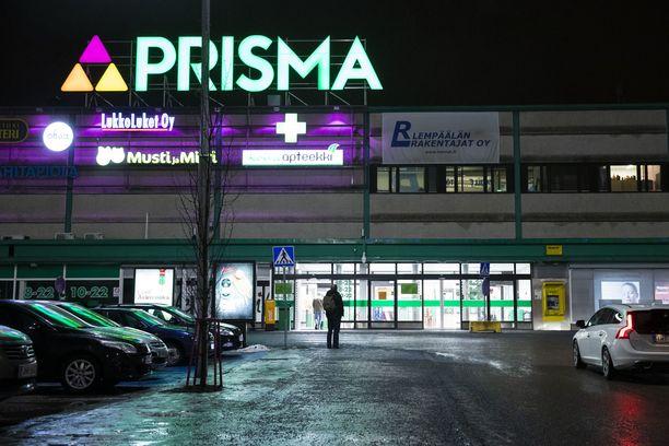 Koivistonkylän Prisma Tampereella.