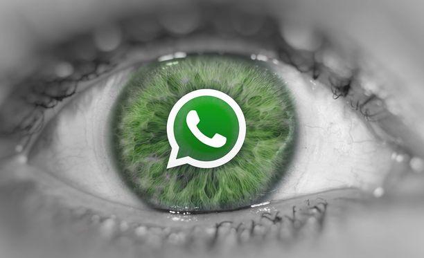 Whatsappia käytettiin puhelimien kaappaamiseen.