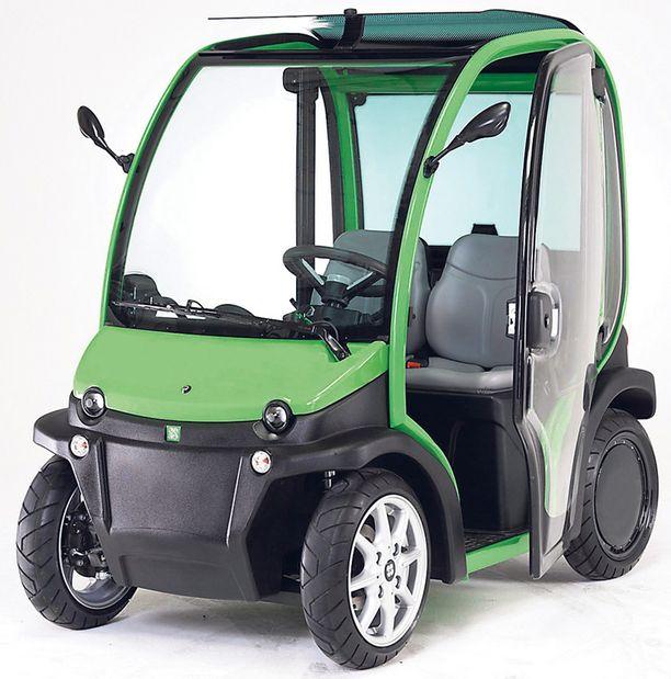 EDULLISTA KYYTIÄ Sähkömopoauton yhden latauskerran hinta on noin 60-70 senttiä.