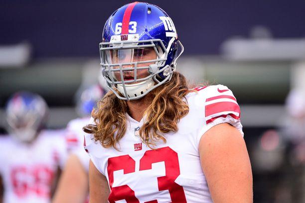 Chad Wheeler on pelannut urallaan New York Giantsin riveissä.