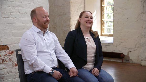 Katsojat rakastivat nauravaista paria, Villeä ja Anniinaa.